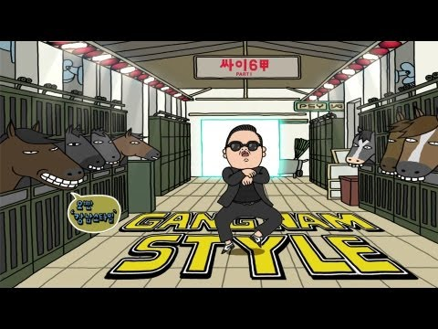 PSY – GANGNAM STYLE (강남스타일 释音歌词)